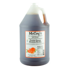 MCCOY'S ORANGE BLOSSOM HONEY 1 GALLON JUG *FL DC ONLY*