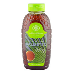 TROPIC BEE PALMETTO HONEY 16 OZ SQUEEZE BOTTLE *FL DC ONLY*
