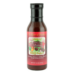 DENNIS' CHERRY HABANERO BBQ SAUCE 15 OZ BOTTLE *FL DC ONLY*
