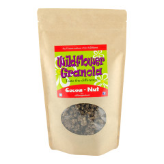 WILDFLOWER COCOA NUTS GRANOLA 12 OZ POUCH *FL DC ONLY*