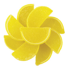 NASSAU CANDY LEMON FRUIT SLICES