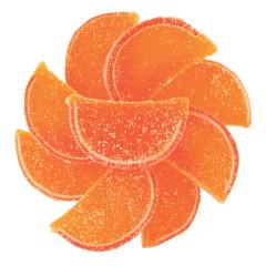 NASSAU CANDY ORANGE FRUIT SLICES