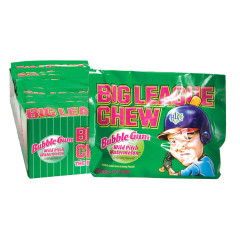 BIG LEAGUE CHEW WATERMELON BUBBLEGUM 2.1 OZ POUCH