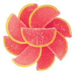 NASSAU CANDY PINK GRAPEFRUIT FRUIT SLICES