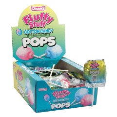 FLUFFY STUFF COTTON CANDY LOLLIPOPS 0.63 OZ