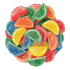 NASSAU CANDY ASSORTED MINI FRUIT SLICES