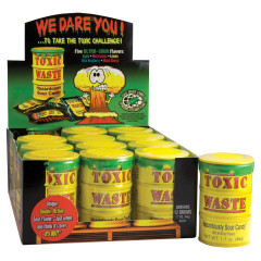 TOXIC WASTE SOUR CANDY DRUMS 1.7 OZ