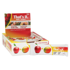 THAT'S IT APPLE AND MANGO FRUIT BAR 1.2 OZ