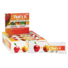 THAT'S IT APPLE AND APRICOT FRUIT BAR 1.2 OZ