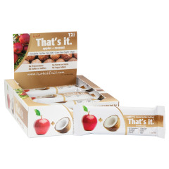 THAT'S IT APPLE AND COCONUT FRUIT BAR 1.2 OZ