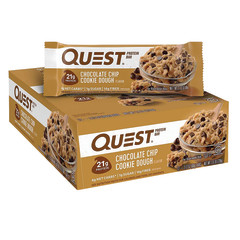 QUEST CHOCOLATE CHIP COOKIE DOUGH PROTEIN BAR 2.1 OZ