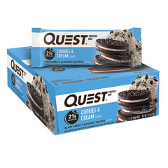 QUEST COOKIES AND CREAM PROTEIN BAR 2.1 OZ