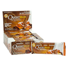 QUEST CINNAMON PROTEIN BAR 2.1 OZ