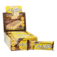 NUGO BANANA CHOCOLATE PROTEIN BAR 1.76 OZ