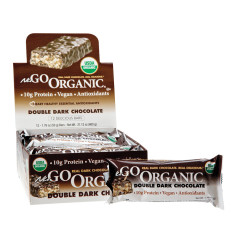 NUGO ORGANIC DOUBLE DARK CHOCOLATE PROTEIN BAR 1.76 OZ