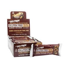 NUGO GLUTEN FREE DARK CHOCOLATE TRAILMIX BAR 1.76 OZ