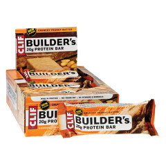 CLIF BUILDER'S CRUNCHY PEANUT BUTTER 2.4 OZ BAR