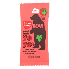 BEAR STRAWBERRY REAL FRUIT YOYO'S 0.7 OZ