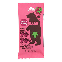 BEAR RASPBERRY REAL FRUIT YOYO'S 0.7 OZ
