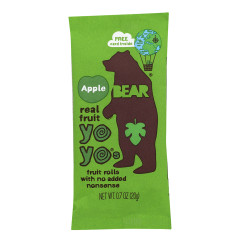 BEAR APPLE REAL FRUIT YOYO'S 0.7 OZ