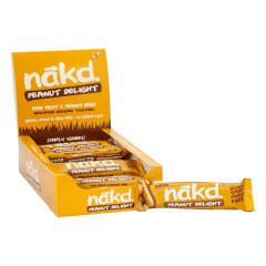 NAKD PEANUT DELIGHT RAW FRUIT AND NUT BAR 1.24 OZ