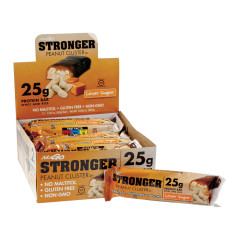 NUGO STRONGER PEANUT CLUSTER PROTEIN BAR 2.82 OZ