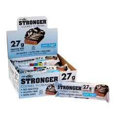 NUGO STRONGER COOKIES 'N CREAM PROTEIN BAR 2.82 OZ