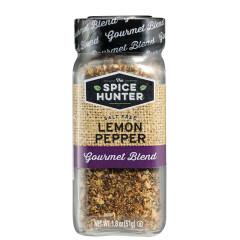 SPICE HUNTER SALT FREE LEMON PEPPER 1.8 OZ