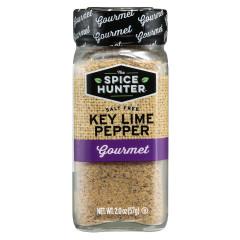 SPICE HUNTER SALT FREE KEY LIME PEPPER 2 OZ