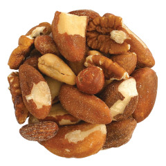 NASSAU CANDY SALTED MIXED NUTS