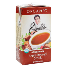 EMERIL'S ORGANIC BEEF STOCK 32 OZ