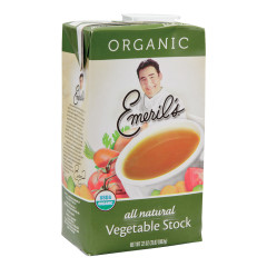 EMERIL'S ORGANIC VEGETABLE STOCK 32 OZ