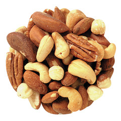 NASSAU CANDY UNSALTED MIXED NUTS