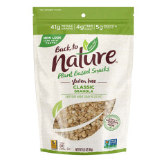 BACK TO NATURE CLASSIC GRANOLA 12.5 OZ POUCH