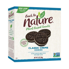 BACK TO NATURE CLASSIC CREME COOKIES 12 OZ BOX