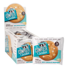 LENNY & LARRY'S COMPLETE WHITE CHOCOLATE MACADAMIA NUT COOKIE 4 OZ