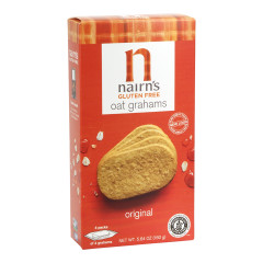 NAIRN'S GLUTEN FREE ORIGINAL OAT GRAHAMS 5.64 OZ BOX