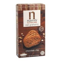 NAIRN'S GLUTEN FREE CHOCOLATE CHIP OAT GRAHAMS 5.64 OZ BOX