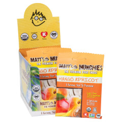 MATT'S MUNCHIES MANGO APRICOT 1 OZ