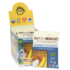 MATT'S MUNCHIES BANANA COCONUT 1 OZ