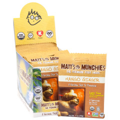 MATT'S MUNCHIES MANGO GINGER 1 OZ