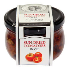 CUCINA & AMORE SUN-DRIED TOMATOES IN OIL 7.9 OZ JAR
