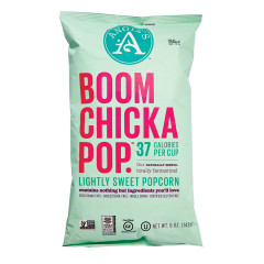 ANGIE'S BOOMCHICKAPOP LIGHTLY SWEET POPCORN 5 OZ BAG