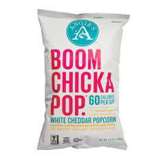 ANGIE'S BOOMCHICKAPOP WHITE CHEDDAR POPCORN 4.5 OZ BAG