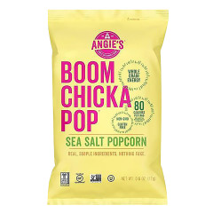 ANGIE'S BOOMCHICKAPOP SEA SALT POPCORN 0.6 OZ BAG