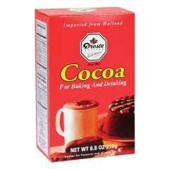 DROSTE COCOA POWDER 8.8 OZ BOX