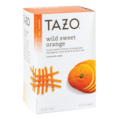 TAZO WILD SWEET ORANGE TEA 20 CT BOX