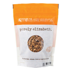 PURELY ELIZABETH PUMPKIN FIG GRANOLA 12 OZ POUCH