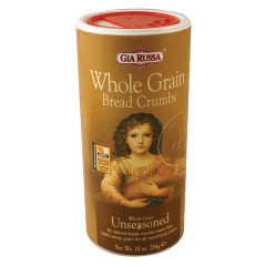 GIA RUSSA SEASONED WHOLE GRAIN BREAD CRUMBS 10 OZ