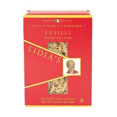 LIDIA'S FUSILLI PASTA 16 OZ BOX
